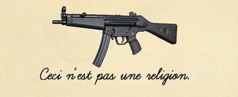 """""""Ceci n'est pas une religion"""""""