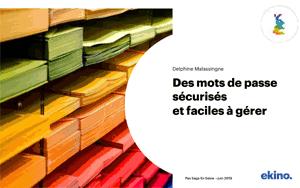 Mes mots de passe sécurisés et faciles à gérer – Pas Sage en Seine 2019